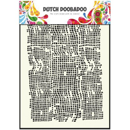 Dutch Doobadoo - Mask, stencil, template A5 - Burlap