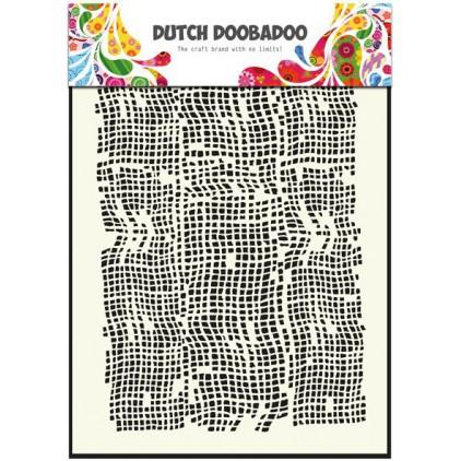 Dutch Doobadoo - Maska, szablon A5 - Burlap
