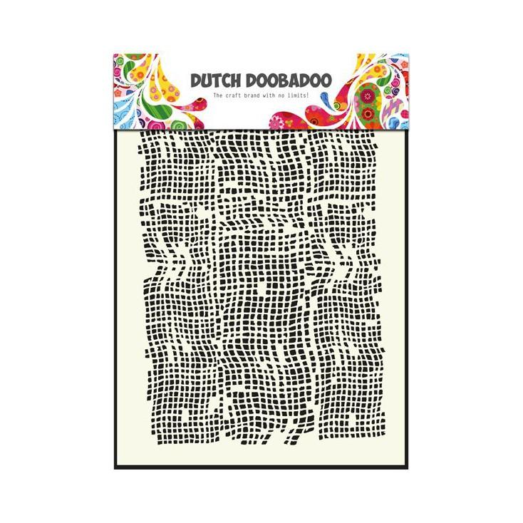 Dutch Doobadoo - Mask, stencil, template A5 - Burlap