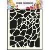 Dutch Doobadoo - Maska, szablon A5 - Giraffe