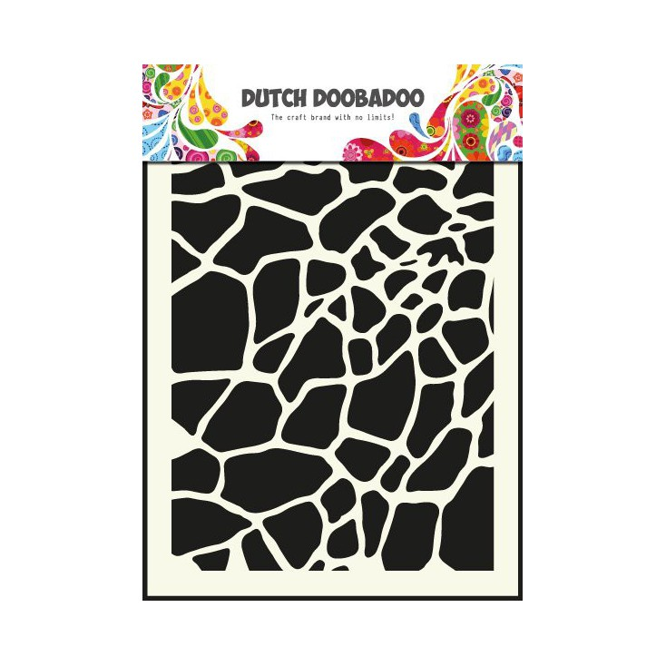 Dutch Doobadoo - Mask, stencil, template A5 - Giraffe