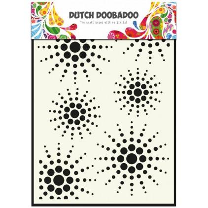 Dutch Doobadoo - Maska, szablon A5 - Sun