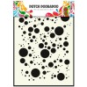 Dutch Doobadoo - Mask, stencil, template A5 - Bubbles