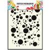 Dutch Doobadoo - Maska, szablon A5 - Bubbles