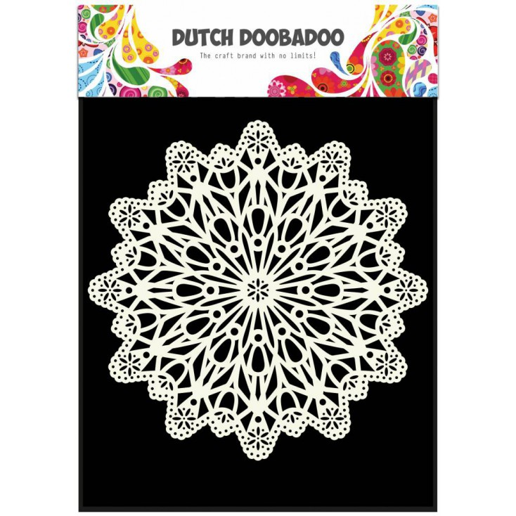 Dutch Doobadoo - Mask, stencil, template A5 - Doily