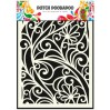 Dutch Doobadoo - Mask, stencil, template A5 - Flower Window