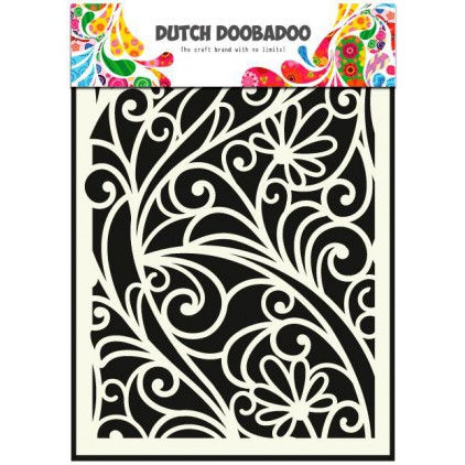 Dutch Doobadoo - Mask, stencil, template A5 - Flower Window