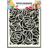 Dutch Doobadoo - Mask, stencil, template A5 - Big Roses