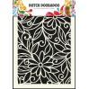 Dutch Doobadoo - Mask, stencil, template A5 - Flower Swirl