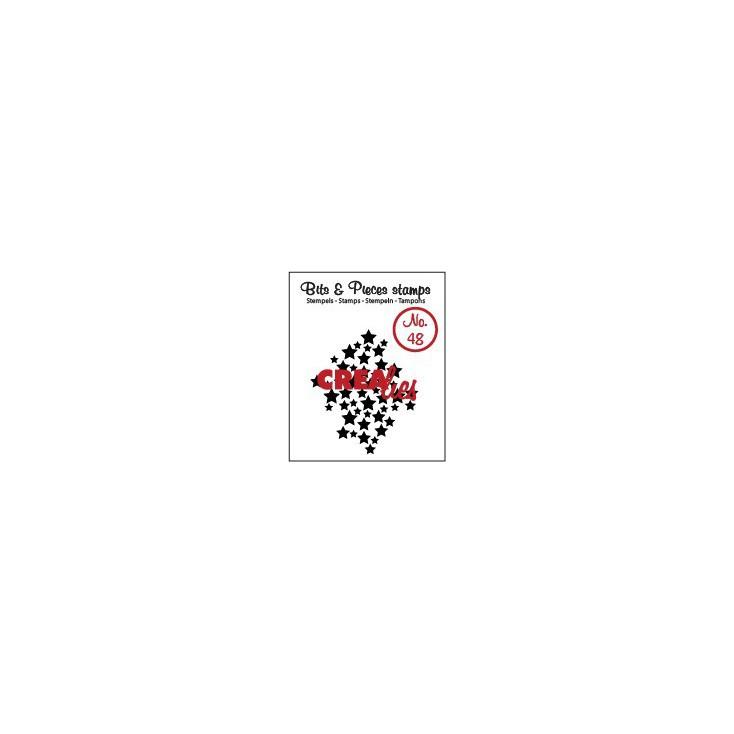 Stempel silikonowy Crealies - Bits & Pieces no. 48 - Stars