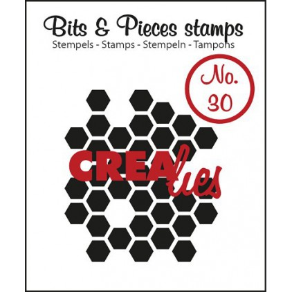 Clear stamp Crealies - Bits & Pieces no. 30 - Honeycomb