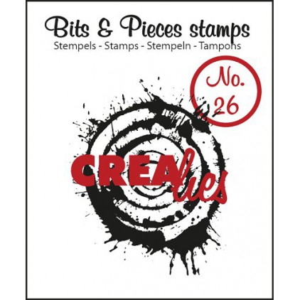 Stempel silikonowy Crealies - Bits & Pieces no. 26 - Splash