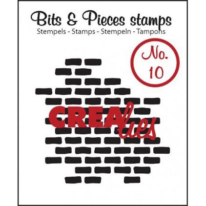 Stempel silikonowy Crealies - Bits & Pieces no. 10  - Stones