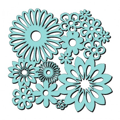 Sweet Dixie - Maska, szablon - Spring Blooms