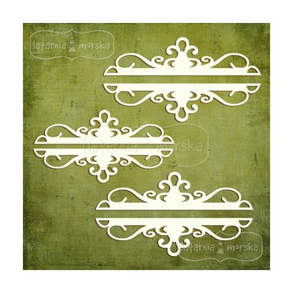 Latarnia Morska - Laser cut - Ornaments - 6pcs
