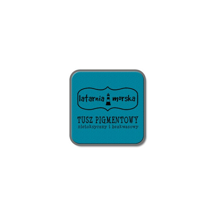 Pigment ink pad for stamping and embossing - Turquoise