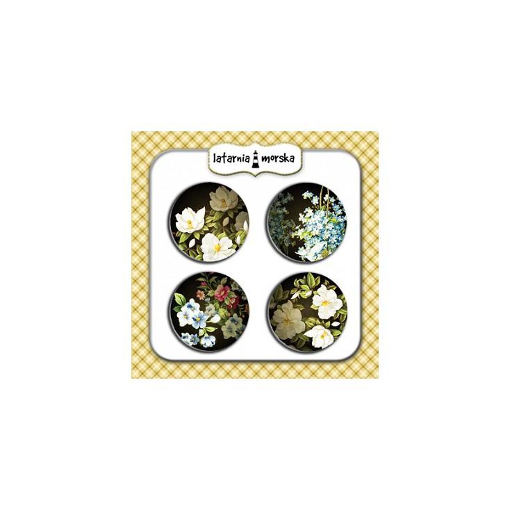 Ozdoby samoprzylepne, buttony - Tajemniczy Ogród 3
