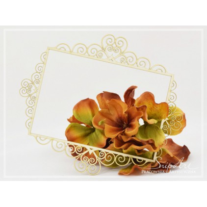 SnipArt - Laser cut - Lace frame 6 - large