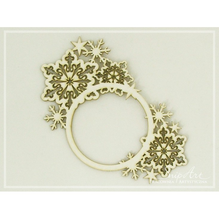 SnipArt - Laser cut - Snowflakes frame