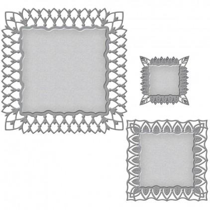 Spellbinders S6-060 - Wykrojniki - Nestabilities Fairmont Decorative Element