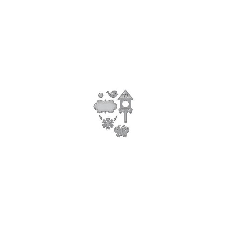Spellbinders S2-227 - Wykrojniki - Die D-Lites Springtime
