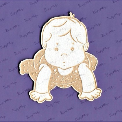 1174 laser cut, chipboard Baby 4 Crafty Moly