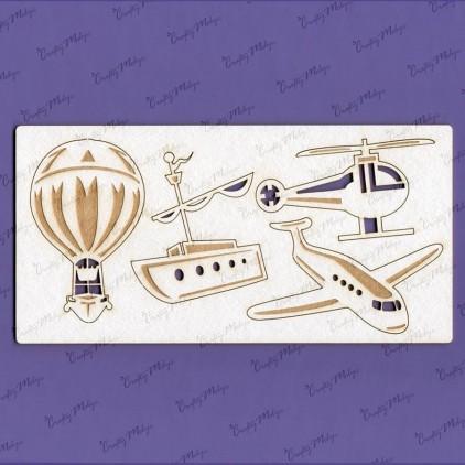 Crafty Moly - Tekturka - Kolekcja latać i pływać