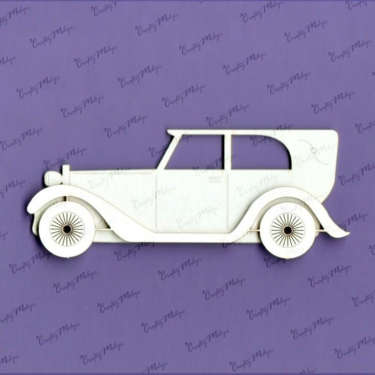 Crafty Moly - Cardboard element - Car 2
