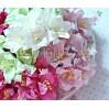 Zestaw papierowych lilii - miks 3 - 50 sztuk
