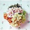 Paper lily flower set - mix 5 - 50 pcs