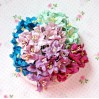 Paper lily flower set - mix 11 - 50 pcs