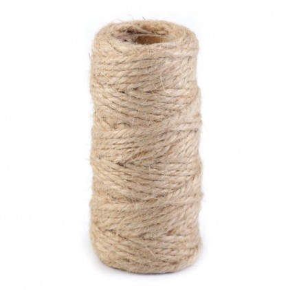 Natural Sisal String Ø2 mm - linen