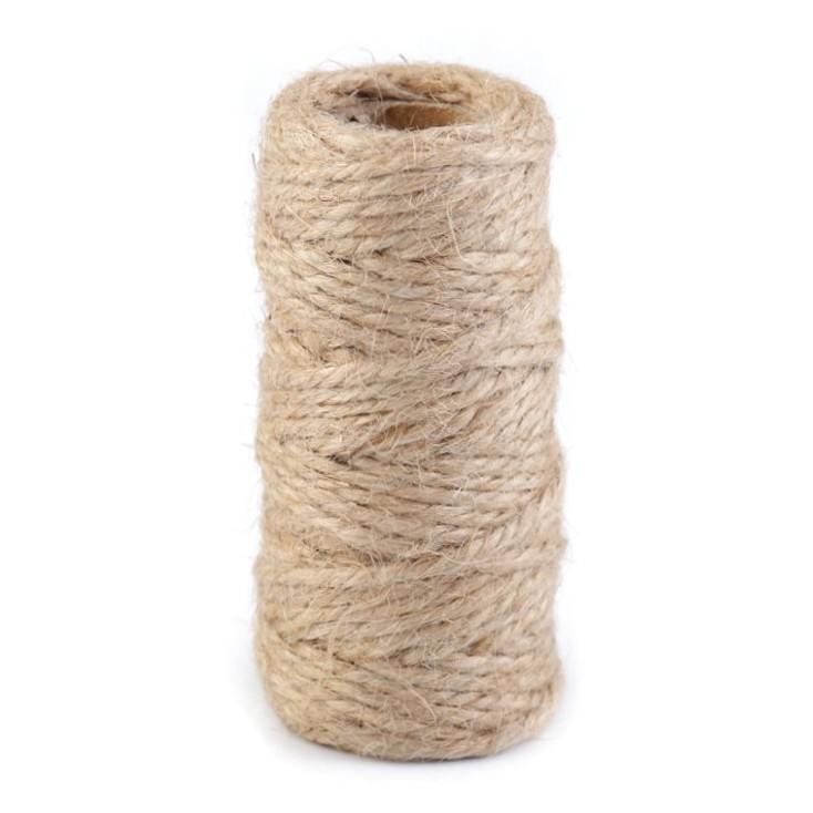 Sznurek sizalowy - Ø2 mm - lniany