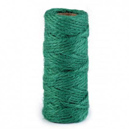 Natural Sisal String Ø2 mm - green
