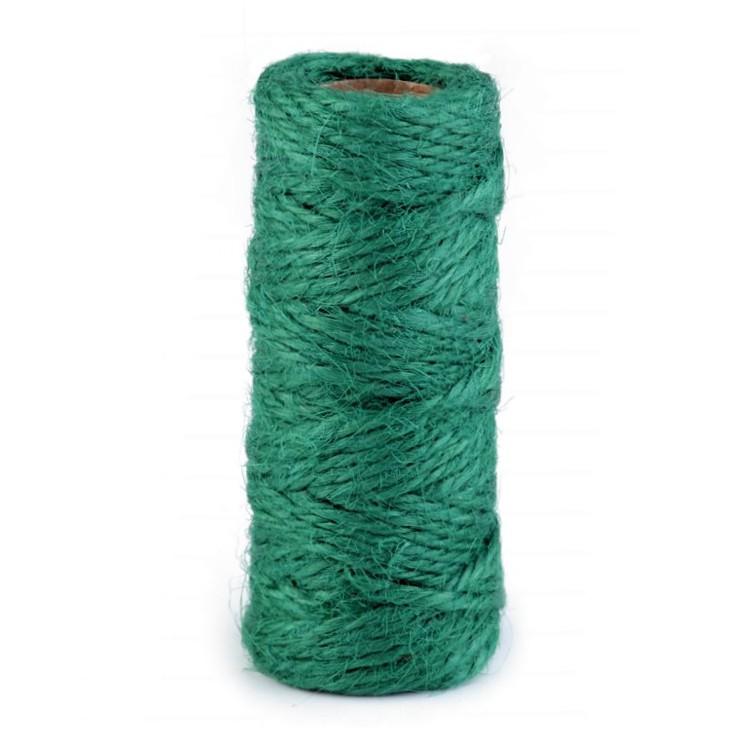 Natural Sisal String Ø2 mm - green