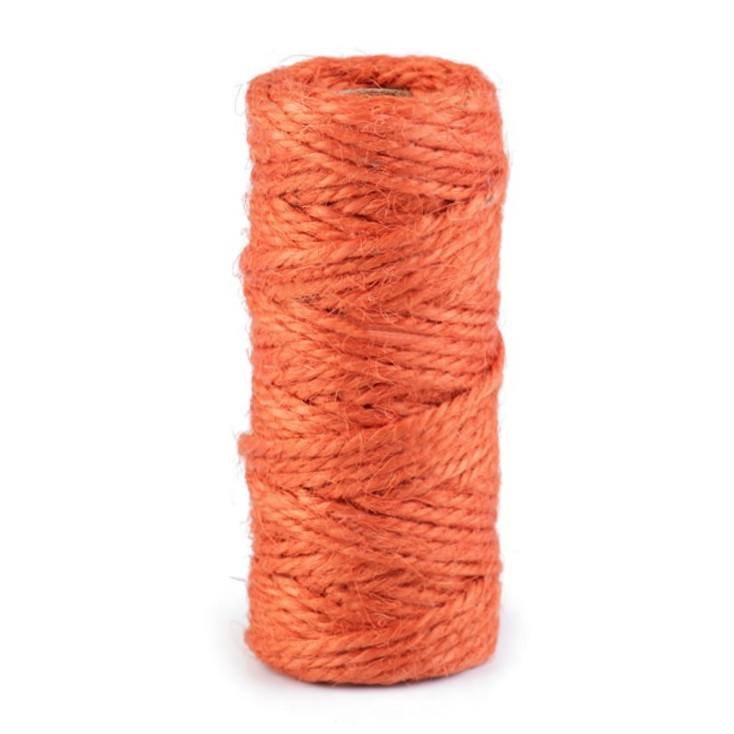 Natural Sisal String Ø2 mm - orange