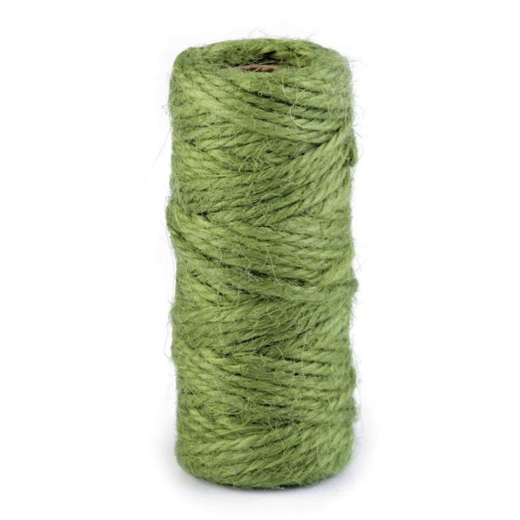 Natural Sisal String Ø2 mm - olive