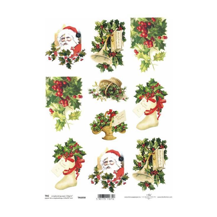ITD Collection - Papier do scrapbookingu - TAG058