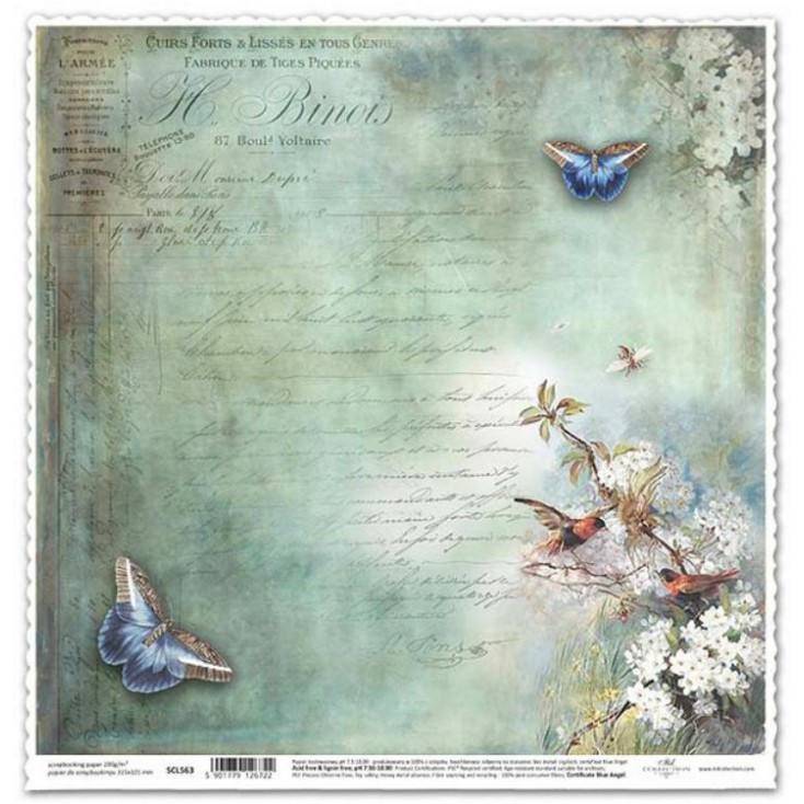 ITD Collection - Scrapbooking paper - SCL563