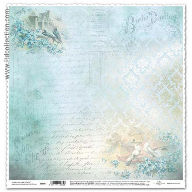 ITD Collection - Scrapbooking paper - SCL561