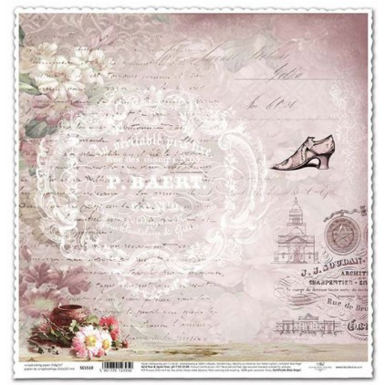 ITD Collection - Scrapbooking paper -  SCL509