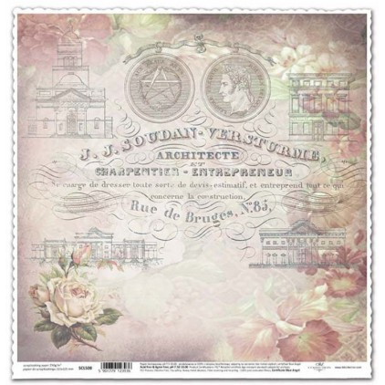 ITD Collection - Papier do scrapbookingu - SCL508