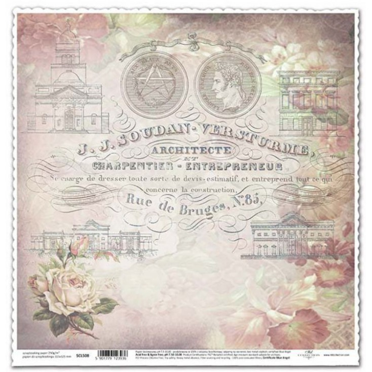 ITD Collection - Scrapbooking paper -  SCL510
