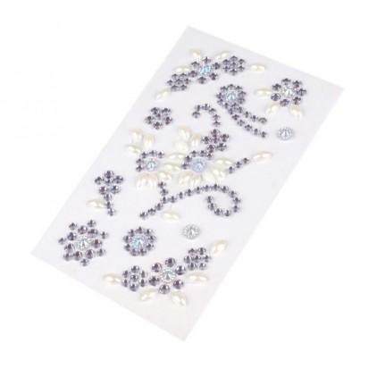 Selfadhesive gems - Crystal flourishes