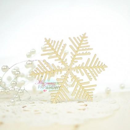Miszmasz Papierowy - Cardboard element - Snowflake 2