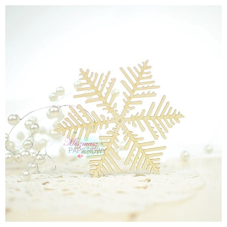 Miszmasz Papierowy - Tekturka - Śnieżna ramka