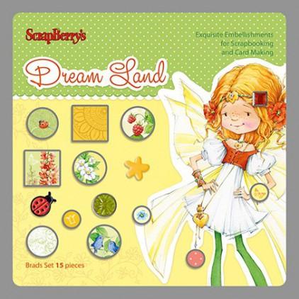 Scrapberry's - Dekoracyjne ćwieki - Dream Land 02