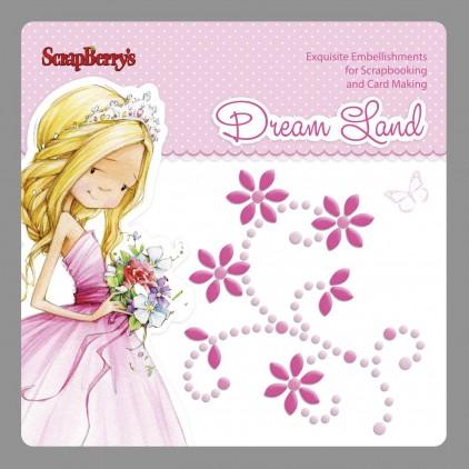 Samoprzylepna ozdoba - zawijas - Dream Land 01