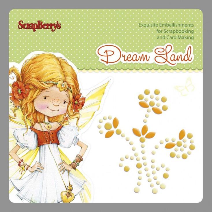 Samoprzylepna ozdoba - zawijas - Dream Land 02