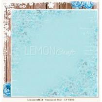 Dwustronny papier do scrapbookingu - Gossamer Blue 05